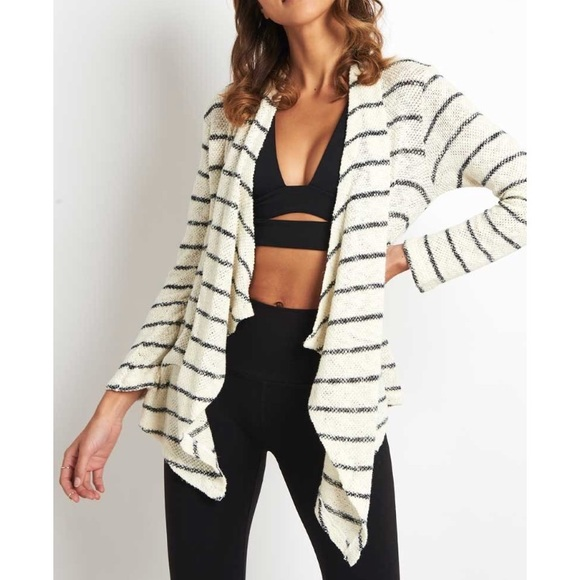 42f5219392012e Sundry Sweaters | Love Always Open Striped Cardigan Nwt | Poshmark